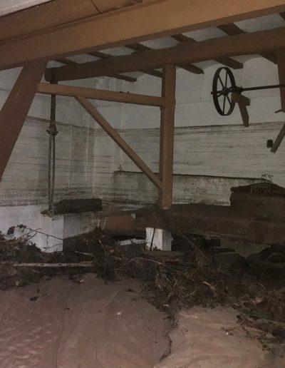 Interior del habitatge després de la DANA del 12 de Setembre.