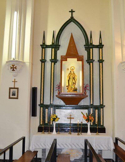 Sant Antoni, dins l'Església de Sant Josep del Pla.