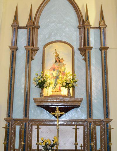 Interior de l'Església.