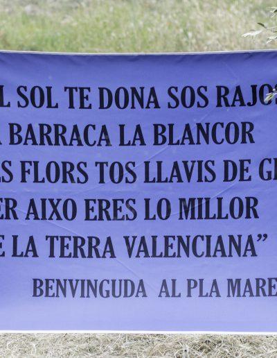 Visita de la Puríssima Concepció al Pla en commemoració del centenari de l'ermita el 2019.